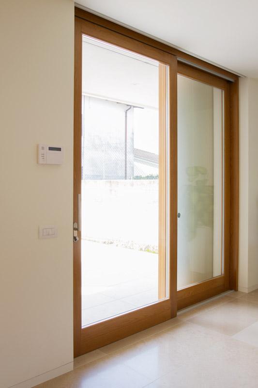 Porte finestra silvestri serramenti - Porta finestra in legno ...