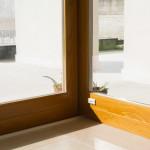 Particolare vetrata e fisso