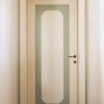 Porta stilizzata bicolore