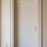 Porta stilizzata bicolore ad uno specchio